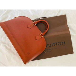 LOUIS VUITTON - Louis Vuitton エピ アルマ ブラウン