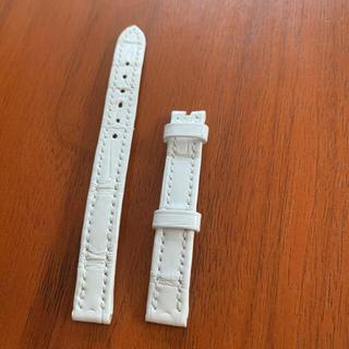 ハリーウィンストン(HARRY WINSTON)のHARRY WINSTONアヴェニューCミニ用クロコ革ベルト白(腕時計)