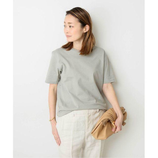 DEUXIEME CLASSE - 美品★Deuxieme Classe neat Tシャツ グリーン