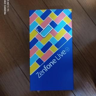 アンドロイド(ANDROID)の送料無料【新品未使用】Zenfone Live ミッドナイトブラック(スマートフォン本体)