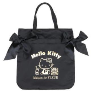 Maison de FLEUR - メゾンドフルール♡ ハローキティコラボダブルリボントートバッグ