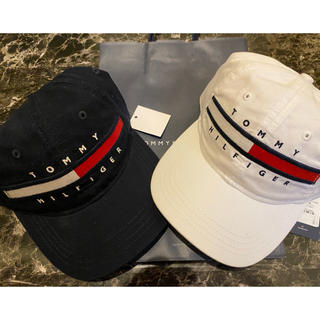 TOMMY HILFIGER - tommy キャップ 2点セット 白 紺色 帽子