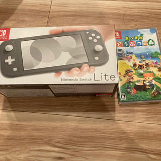 Nintendo Switch - ニンテンドースイッチライト どうぶつの森ソフト セット