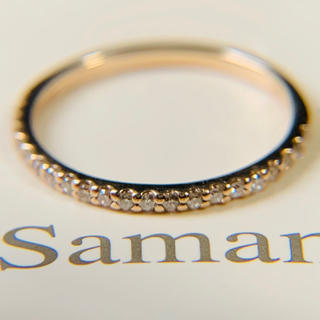 Samantha Tiara - k18 サマンサティアラ 4号 ダイヤモンドエタニティリング