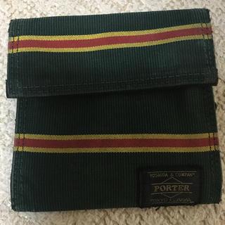 ポーター(PORTER)のPORTER sunbrela コラボ財布(折り財布)