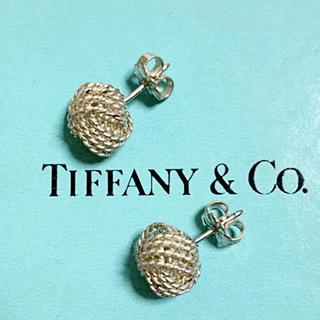Tiffany & Co. - ティファニー サマセット ノット ピアス