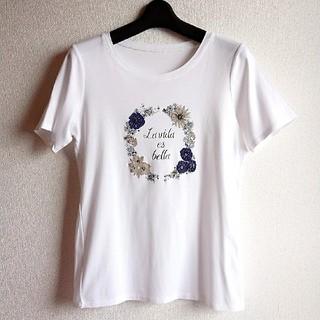 CORDIER - CORDIER 花柄 Tシャツ