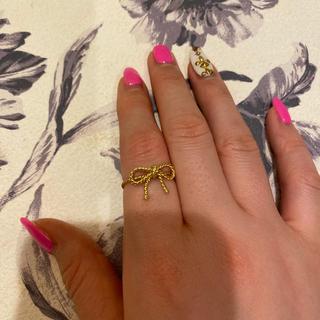 ティファニー(Tiffany & Co.)のTIFFANY & Co. ツイストリボン指輪(リング(指輪))