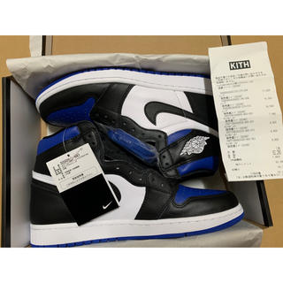 NIKE - NIKE AIR JORDAN 1 ROYAL TOE 27.5