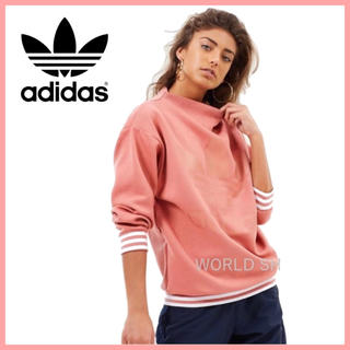 adidas - adidas originals スウェット ピンク【購入時コメント不要です】