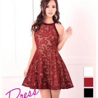 デイジーストア(dazzy store)のTika Tikaholic ホルターネックメッシュレースミニドレス(ナイトドレス)
