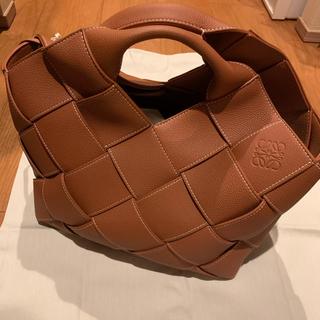 LOEWE - 【LOEWE】新品未使用 ウーブンバスケットバッグ