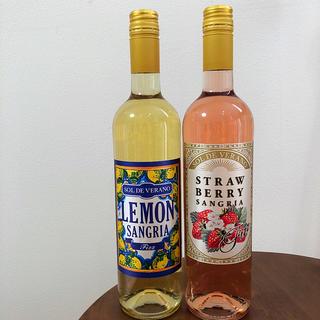カルディ(KALDI)のカルディ レモンサングリア & ストロベリーサングリア(リキュール/果実酒)