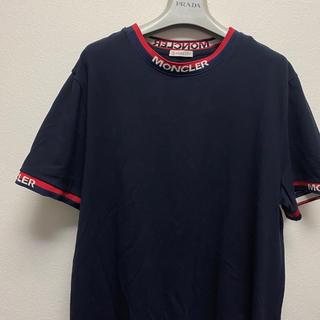MONCLER - モンクレール ラファエル着用モデル Tシャツ ライン ネイビー Lサイズ