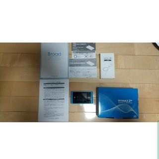 NEC - 送料無料・美品】Speed Wi-Fi NEXT WX04 モバイル ルーター