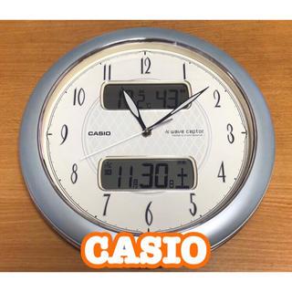 カシオ(CASIO)のCASIO wave ceptor 電波時計 掛時計(掛時計/柱時計)