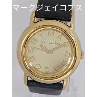 MARC JACOBS - マークジェイコブス 腕時計 レディース ゴールド ブラック
