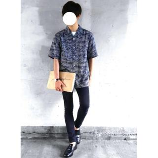 UNIQLO - ユニクロu 柄シャツ オープンカラーシャツ(柄・半袖)  ユニクロユー
