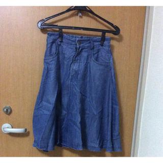 ジーナシス(JEANASIS)の【1ヶ月限定】スカート(ひざ丈スカート)