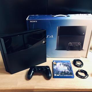 ソニー(SONY)のPlayStation4 (PS4) モンハンアイスボーン (MHWI) セット(家庭用ゲーム機本体)