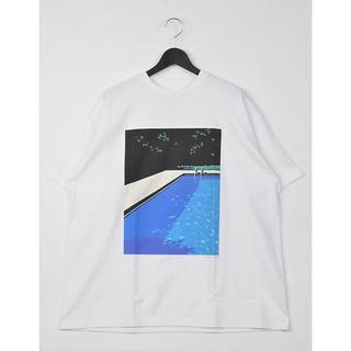 COMOLI - 【新品】グラフペーパー x 永井博 コラボ限定Tシャツ graphpaper