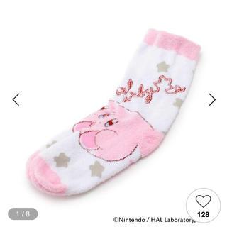 ITS'DEMO - イッツデモ 星のカービィ もこもこ靴下 ルームソックス 靴下 カービィ コラボ