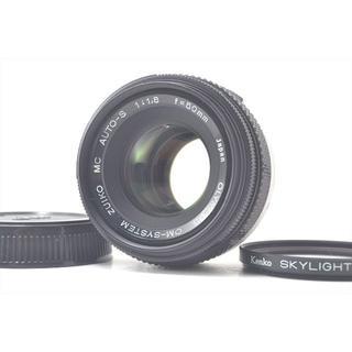 オリンパス(OLYMPUS)のOlympus ZUIKO AUTO-S 50mm f/1.8(レンズ(単焦点))