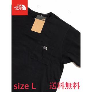 THE NORTH FACE - 【新品】THE NORTH FACE ノースフェイス ポケット Tシャツ 黒 L