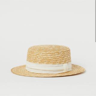 エイチアンドエム(H&M)のストローハット(麦わら帽子/ストローハット)