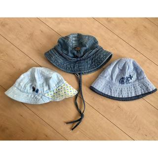 ベビー  夏用帽子 3点セット(帽子)