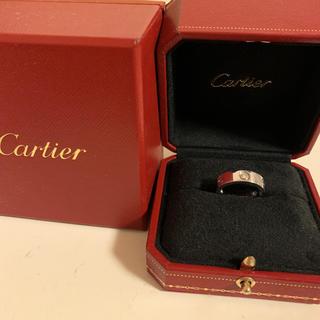 カルティエ(Cartier)のカルティエラブリングハーフダイヤモンド(リング(指輪))