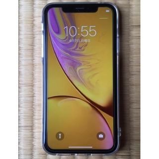 iPhone - iPhone XR イエロー 128GB ソフトバンク SIMフリー アイフォン