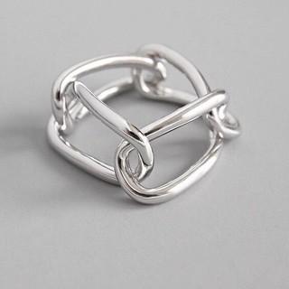 トゥデイフル(TODAYFUL)のsilver925 シルバーリング チェーン 鎖 リング 03指輪(リング(指輪))