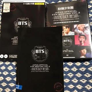 防弾少年団 BTS FC限定盤 UNDERCOVER MISSION DVD