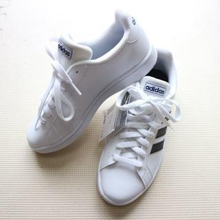 adidas - 新品アディダス/24.5cm/白スニーカー/EE7904/adidas