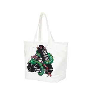 シュプリーム(Supreme)のpalace hesh denim tote bag white (バッグ)