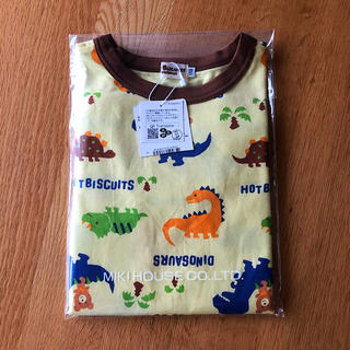 mikihouse - ☆新品☆ ミキハウス ホットビスケッツ  Tシャツ 110 恐竜