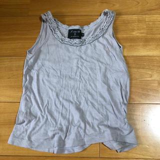 エーキャンビー(A CAN B)のgrisflanelle タンクトップ 10y(Tシャツ/カットソー)