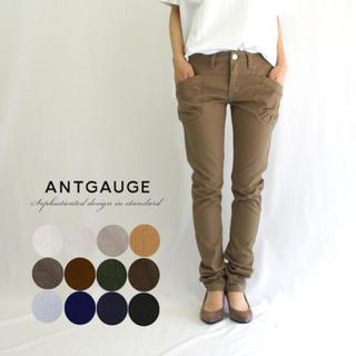 アントゲージ(Antgauge)のantgauge スキニー パンツ ダークカーキ Mサイズ(スキニーパンツ)