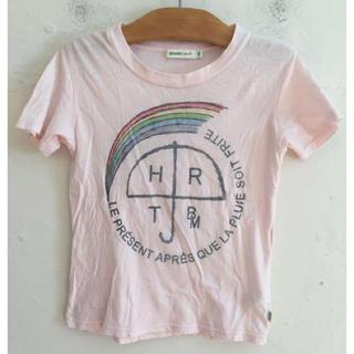 BEAMS - BEAMS mini ビームス ミニ Tシャツ レインボー ピンク サイズ110