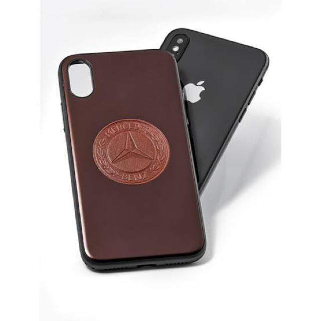 iPhone(アイフォーン)の【期間限定値下げ】メルセデス iPhone X/XS用 ケース ブラウン スマホ/家電/カメラのスマホアクセサリー(iPhoneケース)の商品写真