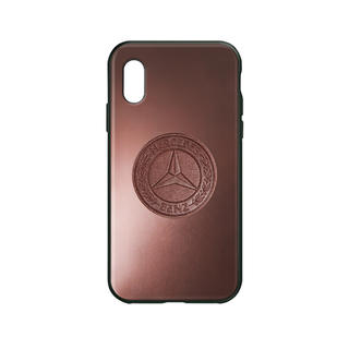 iPhone - 【期間限定値下げ】メルセデス iPhone X/XS用 ケース ブラウン