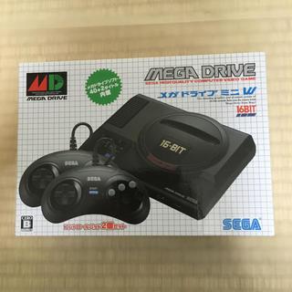 セガ(SEGA)のメガドライブ ミニ W BLACK(家庭用ゲーム機本体)