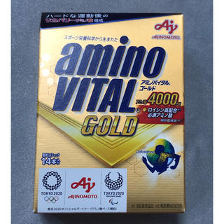 AJINOMOTO アミノバイタルゴールド アミノ酸4000 箱無発送 14本