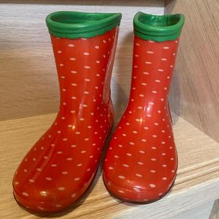 キッズ レインシューズ 17.0cm 女の子長靴(長靴/レインシューズ)