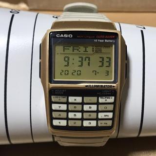カシオ(CASIO)のCASIO腕時計 データバンク DBC-32(腕時計(デジタル))