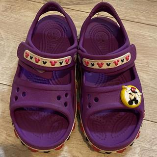 クロックス(crocs)のクロックス ミッキーマウス C10  (サンダル)