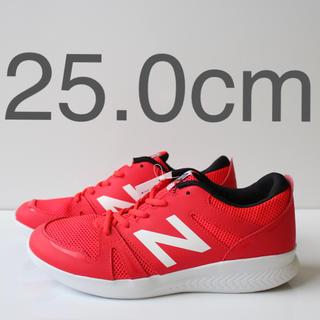 ニューバランス(New Balance)の新品 ニューバランス YK570  OR レッド 25.0cm(スニーカー)