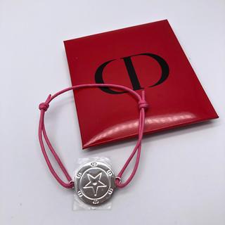Dior - 【ノベルティ⭐︎レア】Dior ディオール ブレスレット ピンク 紐 未使用
