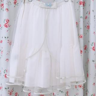 ロディスポット(LODISPOTTO)のチュールスカート(ひざ丈スカート)